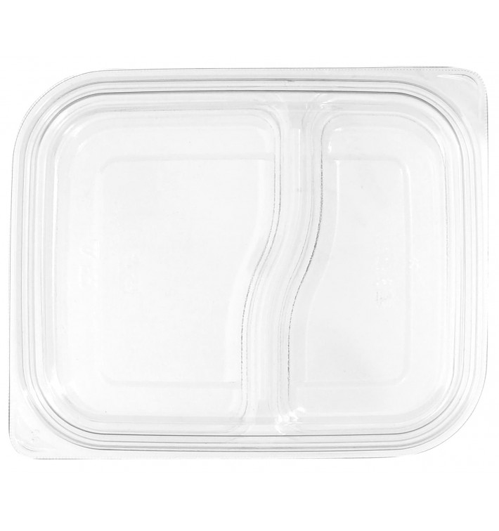 Plastic Lid for Deli Container PET Flat 18x15cm (75 Units)