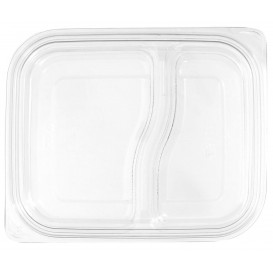 Plastic Lid for Deli Container PET Flat 18x15cm (450 Units)