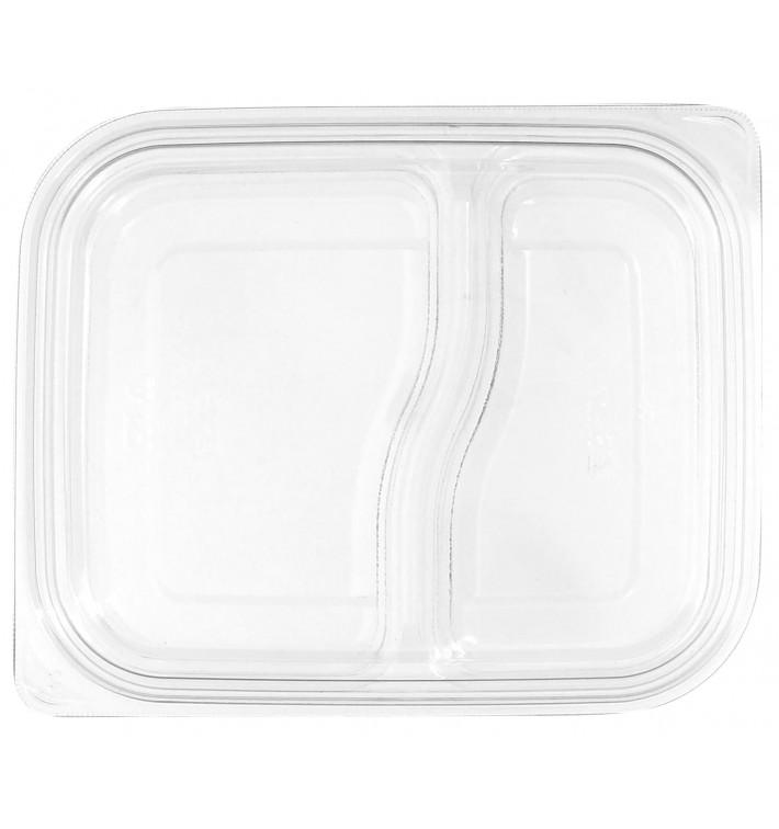 Plastic Lid for Deli Container PET Flat 18x15cm (450 Units)
