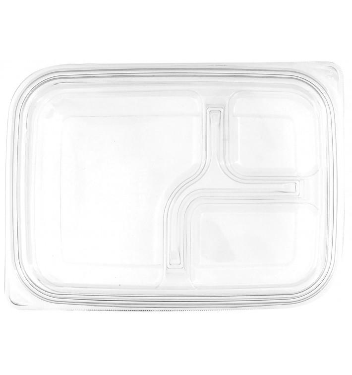 Plastic Lid for Deli Container PET Flat 22x16cm (75 Units)