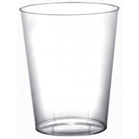 "Plastic Cup PS ""Moon"" Clear 320ml (20 Units)"