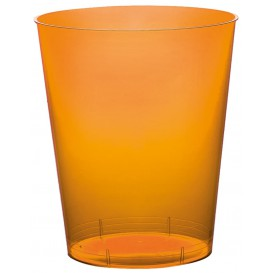 "Plastic Cup PS ""Moon"" Orange Clear 350ml (400 Units)"