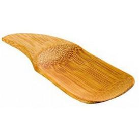 Bamboo Tasting Spoon 10x4cm (24 Units)