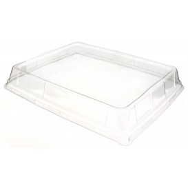 Plastic Lid for Platter High 31,6x26,5cm (50 Uds)