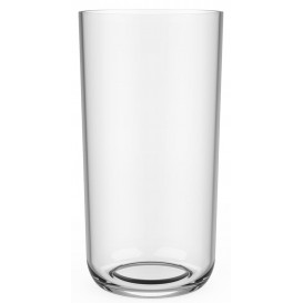 Plastic Glass Tritan Reusable Clear 325ml (6 Units)