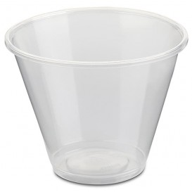 Plastic Container PP Clear 280ml Ø9,4cm (50 Units)