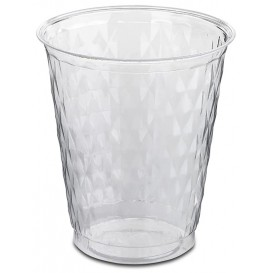 """Plastic Cup PS Crystal """"Ruby"""" 250ml (50 Units)"""