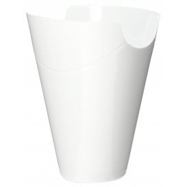 "Tasting Plastic Container PP ""Click-Clack"" White 180ml (10 Units)"