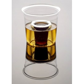 "Plastic Cup PS Crystal ""Shot Bomb"" 250ml (50 Units)"