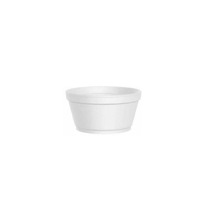 Foam Container White 2 Oz/60ml Ø7,4cm (1000 Units)