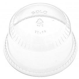 Plastic Dome Lid PET Crystal Ø9,8cm (50 Units)