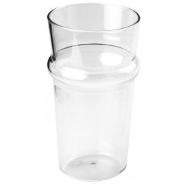 Plastic Pint Glass SAN Reusable 568ml (6 Units)