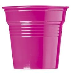 Plastic Shot PS Fuchsia 80ml Ø5,7cm (50 Units)