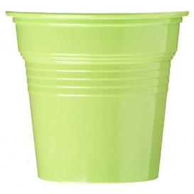 Plastic Shot PS Lime Green 80ml Ø5,7cm (50 Units)