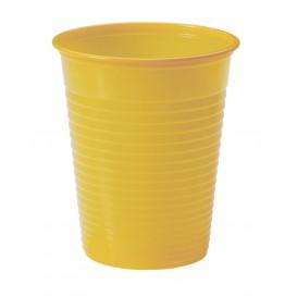 Plastic Cup PS Mango 200ml Ø7cm (50 Units)