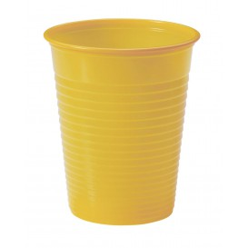 Plastic Cup PS Mango 200ml Ø7cm (1500 Units)