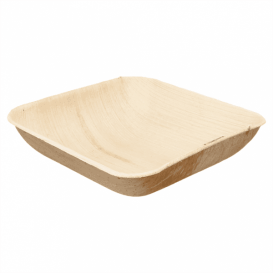 Palm Leaf Bowl 20x20x4cm (25 Units)