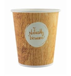 "Paper Cup PLA ""BioWare"" Vending Eco-Friendly-Friendly 8 Oz/210ml Ø7,0cm (100 Units)"