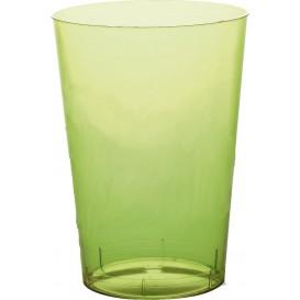 Vaso de Plastico Moon Verde Lima Transp. PS 350ml (20 Uds)