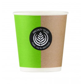 "Paper Cup ""Specialty to go"" 4 Oz/120ml Ø6,2cm (80 Units)"