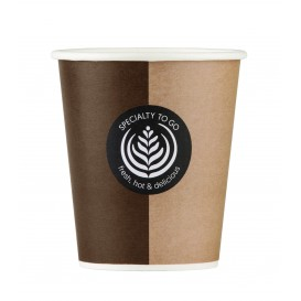 "Paper Cup ""Specialty to Go"" 9 Oz/270ml Ø8,0cm (1000 Units)"
