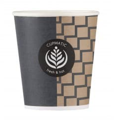 "Paper Cup ""Cupmatic"" 6 Oz/192ml Ø7,0cm (100 Units)"