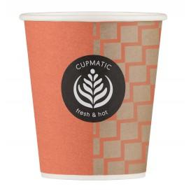 "Paper Cup ""Cupmatic"" 8 Oz/210ml Ø7,0cm (2500 Units)"
