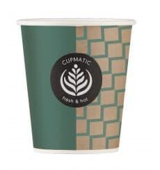 "Paper Cup ""Cupmatic"" 9 Oz/280ml Ø8,0cm (1000 Units)"