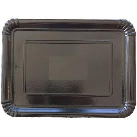 Paper Tray Rectangular shape Black 14x21 cm (100 Units)