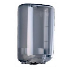 "Plastic Paper Dispenser ABS Mini Center Pull ""Smoked"" (1 Unit)"