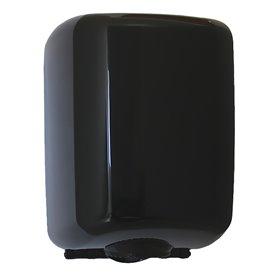 Plastic Paper Dispenser ABS Center Pull Black (1 Unit)