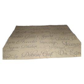"""Paper Placemats 30x40cm Kraft """"Buen Provecho"""" 40g (1000 Units)"""
