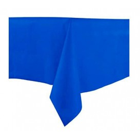 Tablecloth Novotex Non-Woven Blue 100x100cm (150 Units)