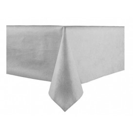 Tablecloth Novotex Non-Woven Grey 100x100cm (150 Units)