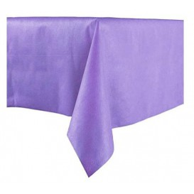 Tablecloth Novotex Non-Woven Purple 100x100cm (150 Units)