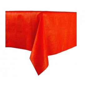 Tablecloth Novotex Non-Woven Red 100x100cm (150 Units)