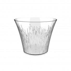 """Plastic Tasting Cup PS """"Meadow"""" Clear 75 ml (25 Units)"""