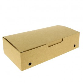 Paper Take-Out Box Large size Kraft 2,00x1,00x0,50,m (375 Units)