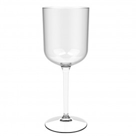 "Reusable Plastic Glass Wine ""Tritan"" Clear 470ml (1 Unit)"