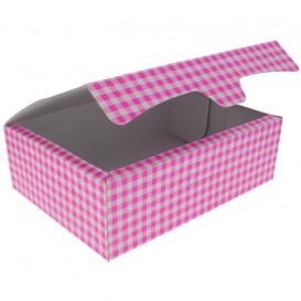 Paper Bakery Box Pink 25,8x18,9x8cm 2Kg (25 Units)