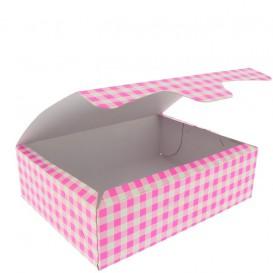 Paper Bakery Box Pink 18,2x13,6x5,2cm 500g (25 Units)
