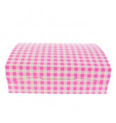 Paper Bakery Box Pink 18,2x13,6x5,2cm 500g (25 Units)