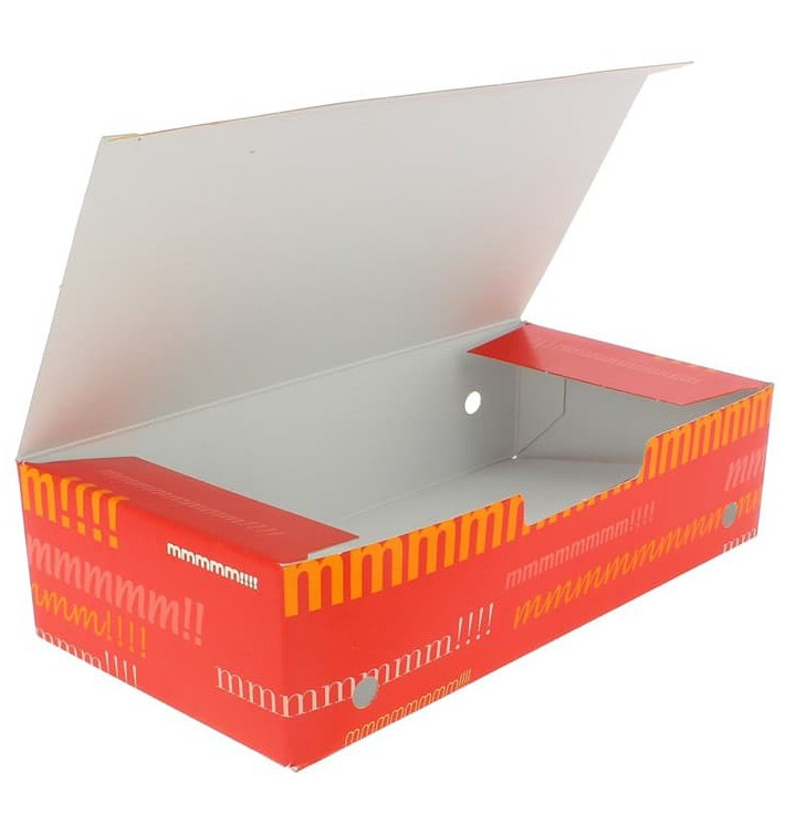 Paper Take-Out Box Large size 2,00x1,00x0,50cm (375 Units)