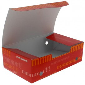 Paper Take-Out Box Medium size 1,45x0,90x0,45cm (25 Units)