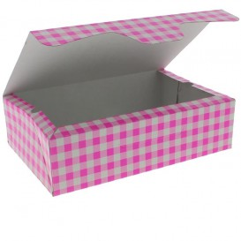 Paper Bakery Box Pink 17,5x11,5x4,7cm 250g (360 Units)