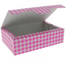 Paper Bakery Box Pink 17,5x11,5x4,7cm 250g (360 Units)