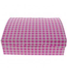 Paper Bakery Box Pink 20,4x15,8x6cm 1kg (20 Units)