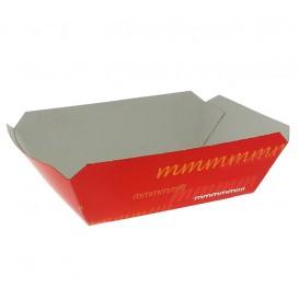 Paper Food Boat Tray 250ml 9,6x6,5x4,2cm (25 Units)