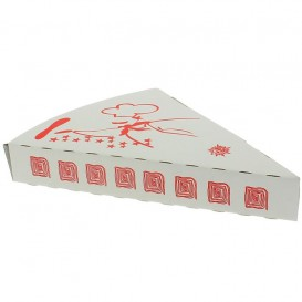 Corrugated Pizza Slice Box Takeaway (25 Units)