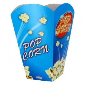 Paper Popcorn Box Large Size 150gr 8,7x13x20,3cm (25 Units)
